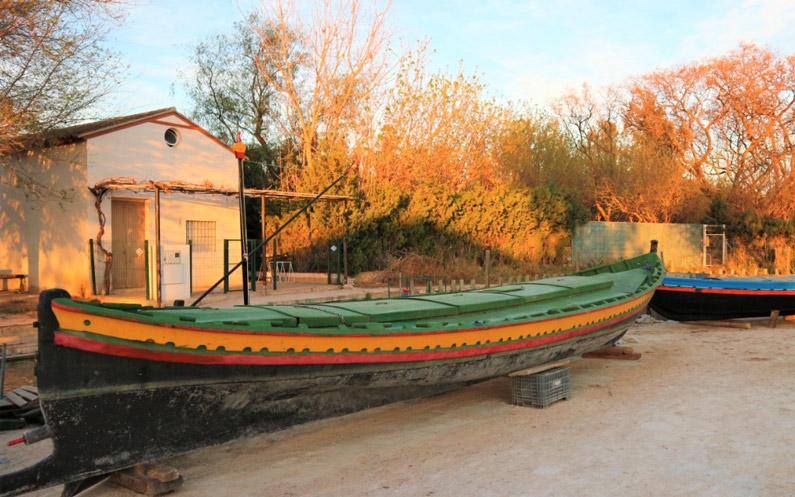 Preparant les barques i els aparells